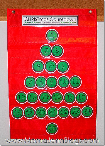 {FREE} CHRISTmas Advent Countdown Printables (coordinating with Truth in the Tinsel)