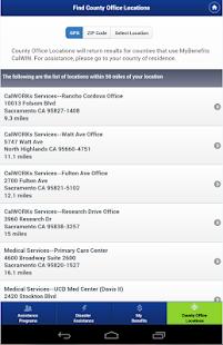 CalWIN Mobile Application- screenshot thumbnail