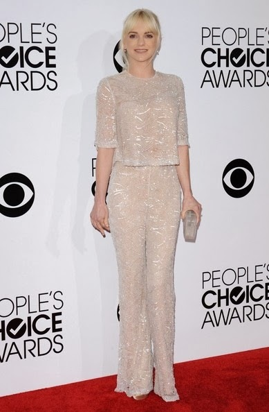 Anna Faris People s Choice Awards 2014