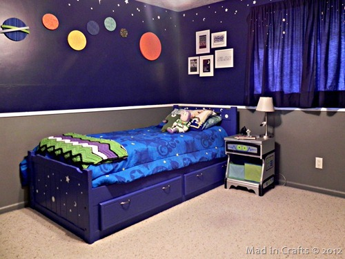 space geek bedroom