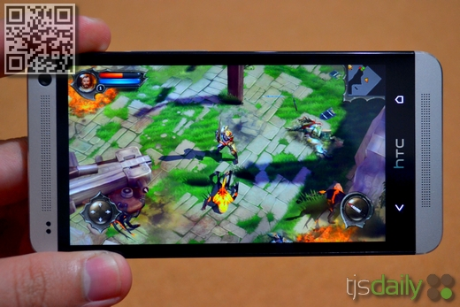 HTC One Review Dungeon Hunter 4