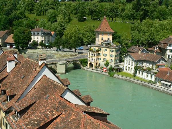 Obiective turistice Elvetia: pod peste Aare.JPG
