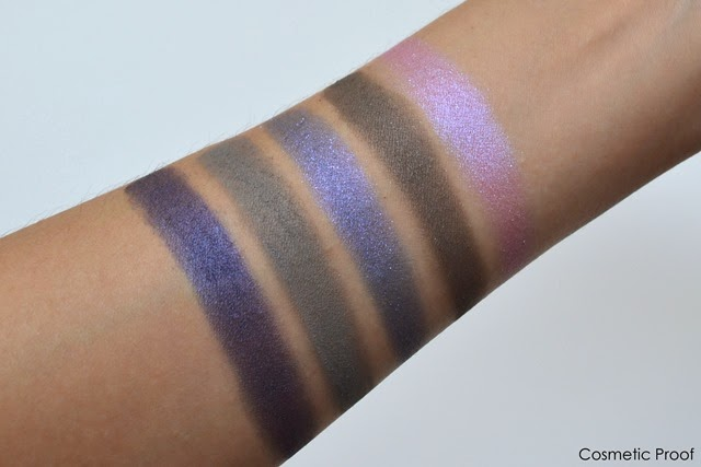 Mary Kay Sapphire Noir Eye Color Palette Swatches