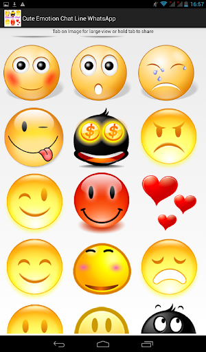 Cute Emotion Chat Social