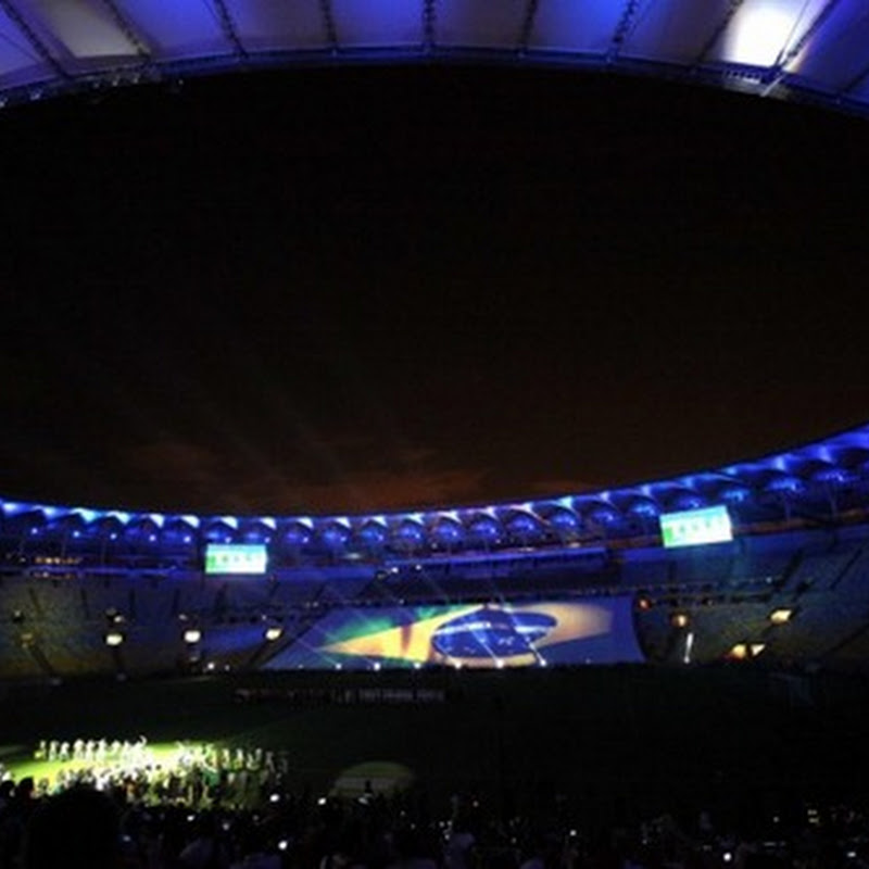 The amazing images of the Maracana Stadium reopening.