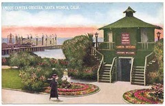 'Famous Camera Obscura at Santa Monica, Calif'. c.1900