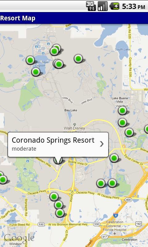 WDW Resort Researcher- screenshot
