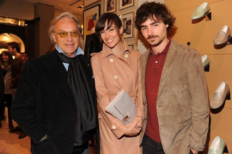 Diego Della Valle, Daniela Virgilio ed Edoardo Natoli
