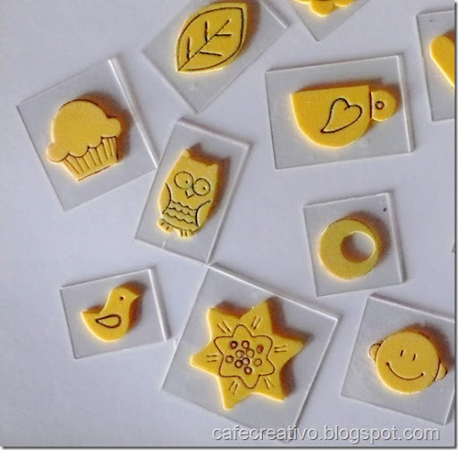 Favorito Come fare Timbri faidate - Homemade stamps - Cafe Creativo KI48