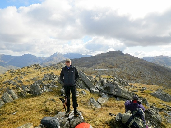 ANDY'S PIC OF ME: SGURR MOR
