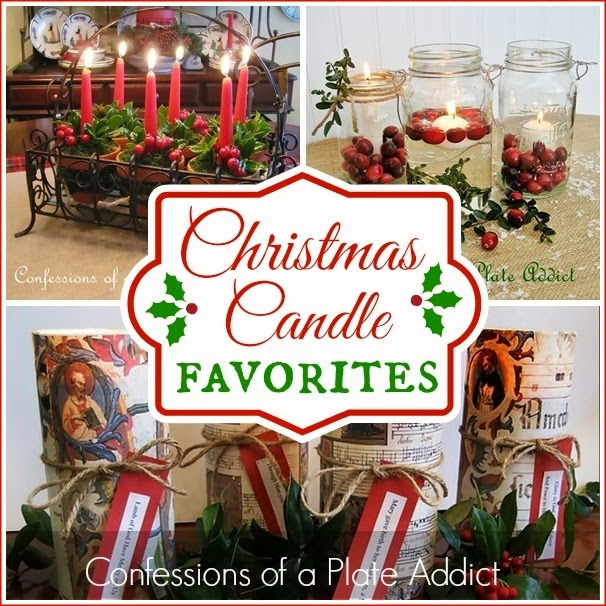 CONFESSIONS OF A PLATE ADDICT Christmas Candle Favorites