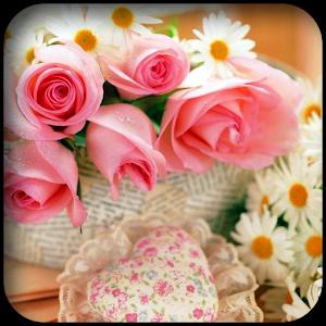 粉紅色的花朵壁紙 個人化 App LOGO-硬是要APP