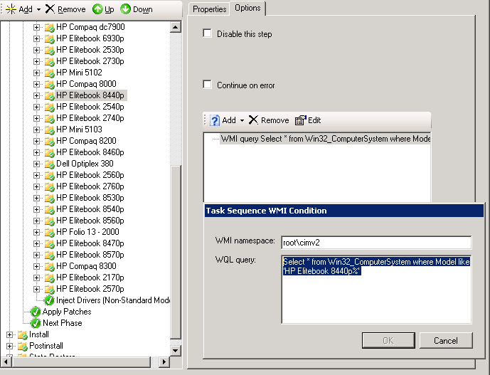 Yet Another Approach to Driver Management in MDT - Controlling