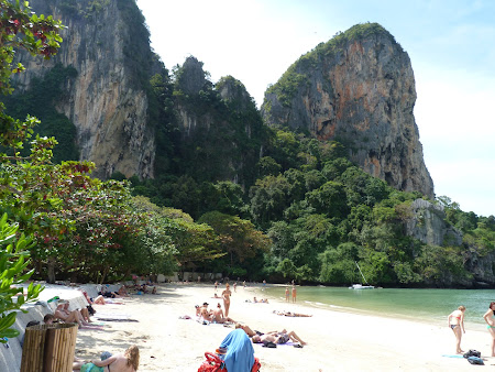 Plaje exotice: Railay West Beach