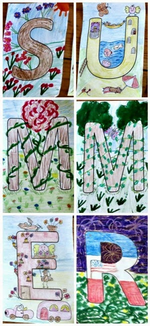 Planet Smarty Pants: A family summer art project