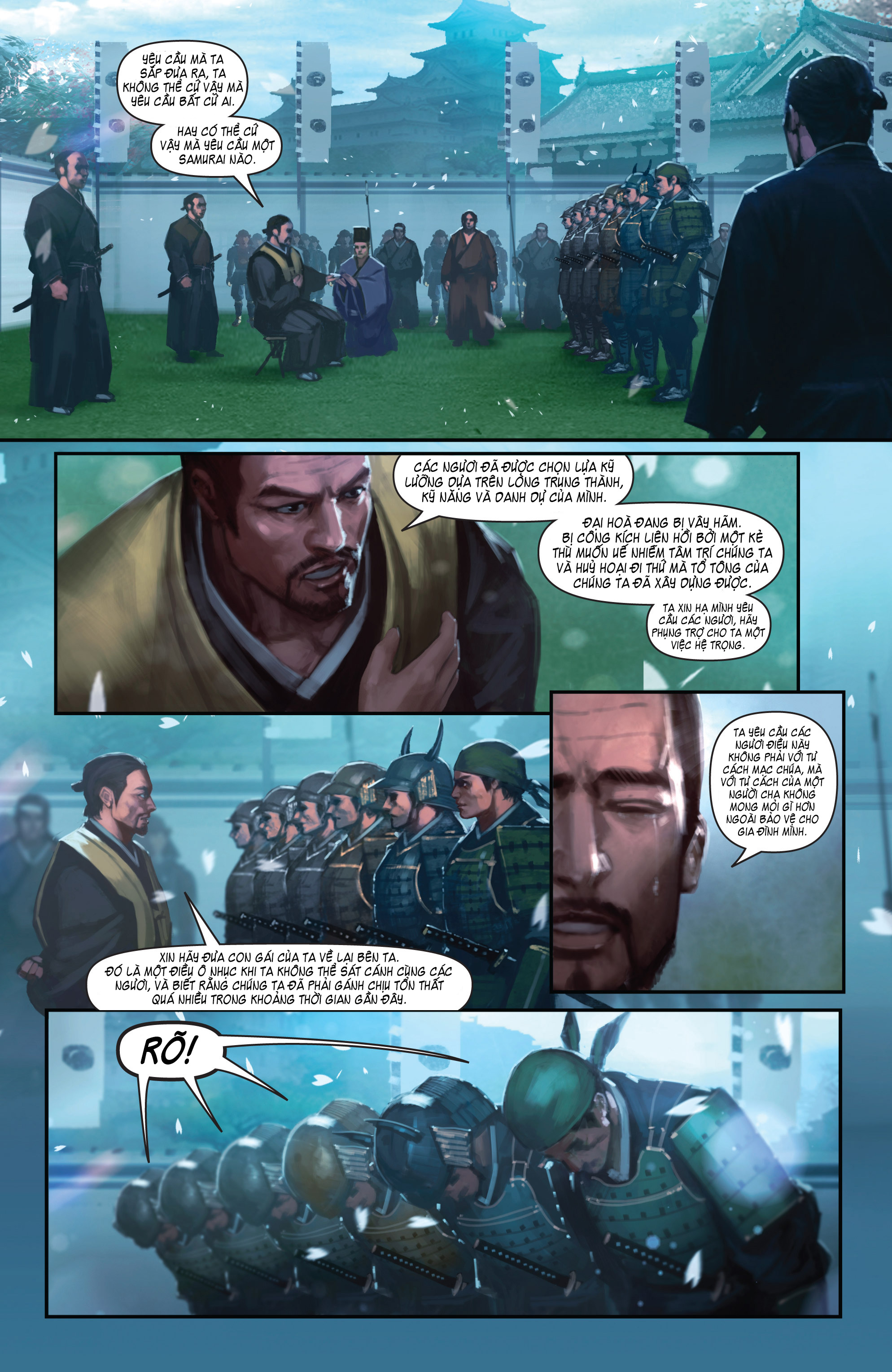 BUSHIDO - THE WAY OF THE WARRIOR chapter 4 trang 12
