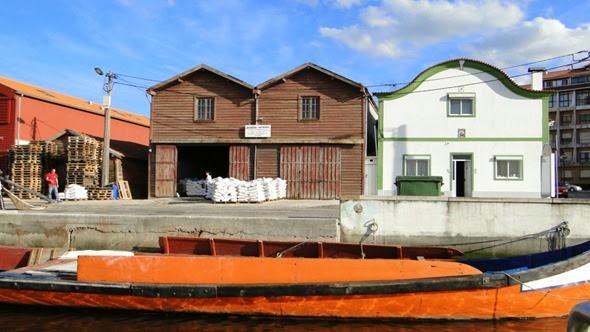 Barracões de sal em Aveiro
