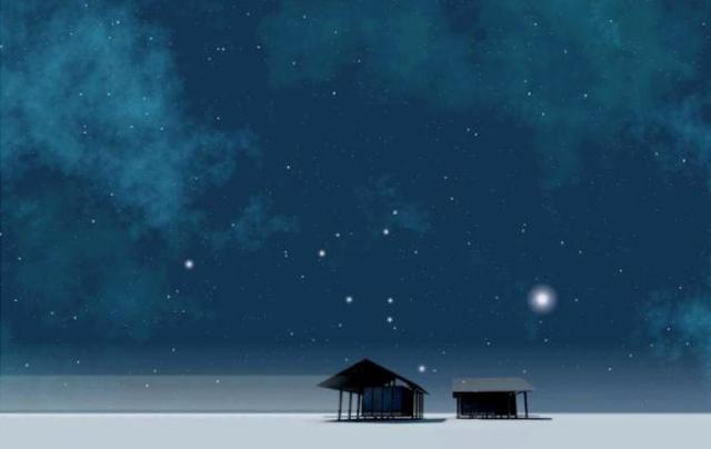 Langit Malam Bertabur Bintang
