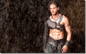 Kit Harington pic from movie Pomeii