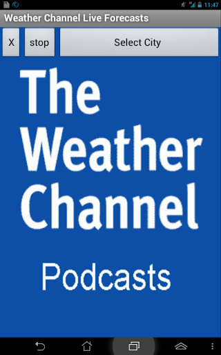 Live Weather Channel Podcast