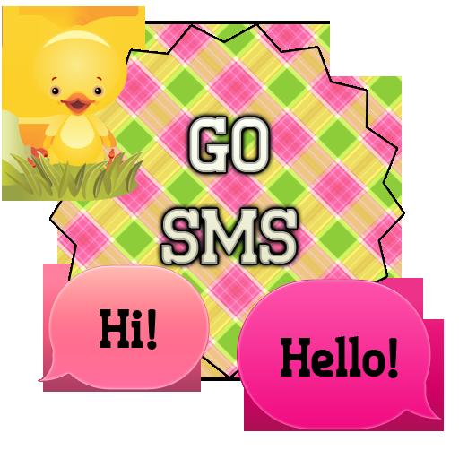GO SMS - Easter Cuties LOGO-APP點子