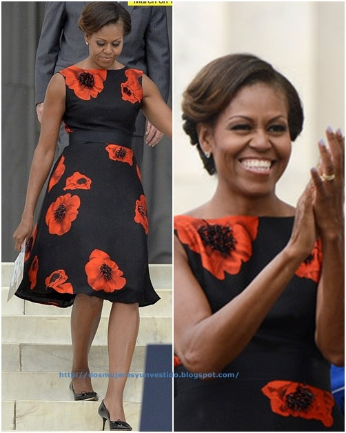 Michelle Obama Washington DC Marks 50 Years