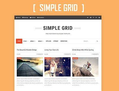 Simple Grid - Template cho Blogspot cực đẹp - Responsive