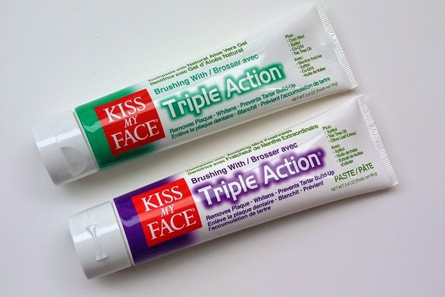 Kiss My Face Toothpaste