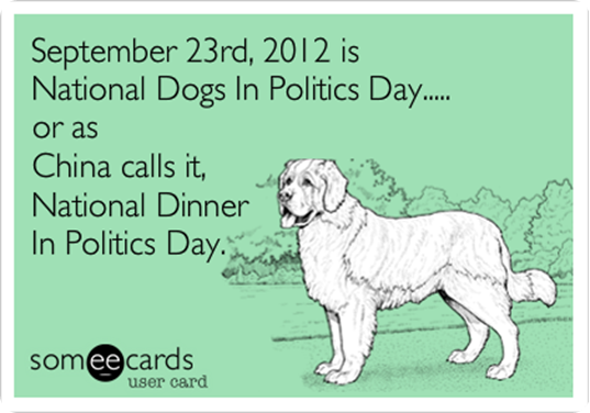 National Dogs in Politics Dau