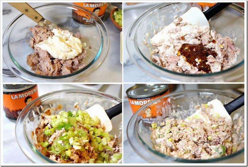 easy delicious family recipe, Chipotle Tuna Sandiwch