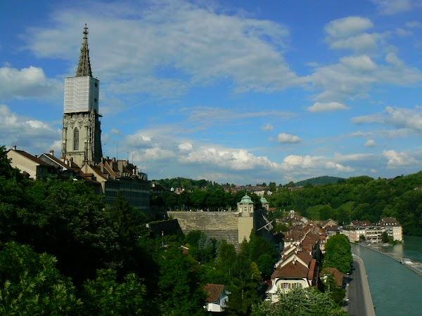 Obiective turistice Elvetia: catedrala Bern