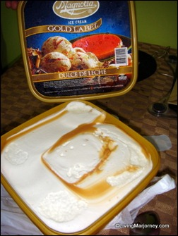 Magnolia Ice Cream Glod Label|Dolce de Leche