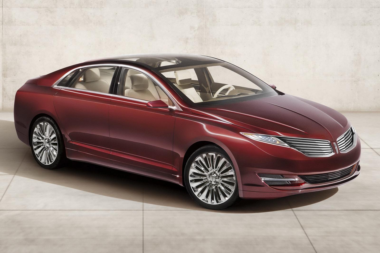 Lincoln Mkz Concept Foto Ufficiali Presentazione Nuovi Modelli