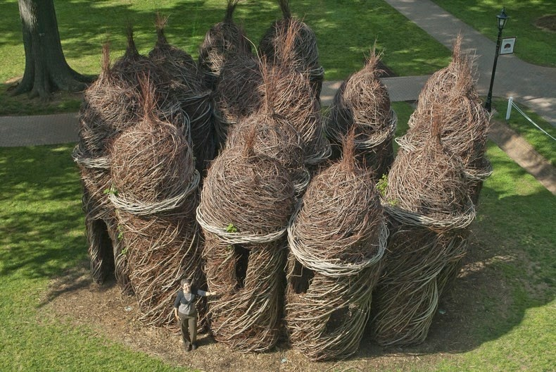 Patrick Dougherty S Twig Sculptures Amusing Planet