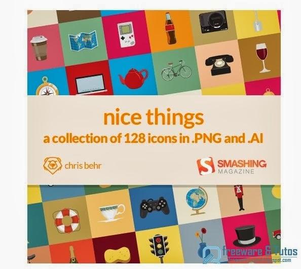 Nice Things : un joli pack d'icônes pour vos projets web