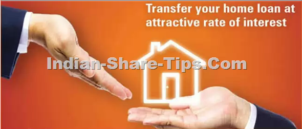 Transfer your existing home loan at attractive rate of interest