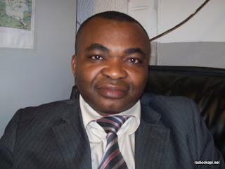 Ferdinand Kambere, Ministre des Affaires sociales, janvier 2010 à Kinshasa.