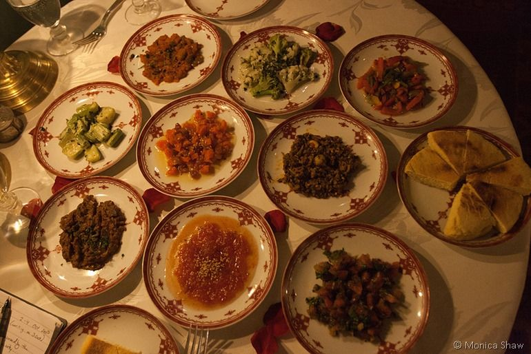 Moroccan feast Marrakech