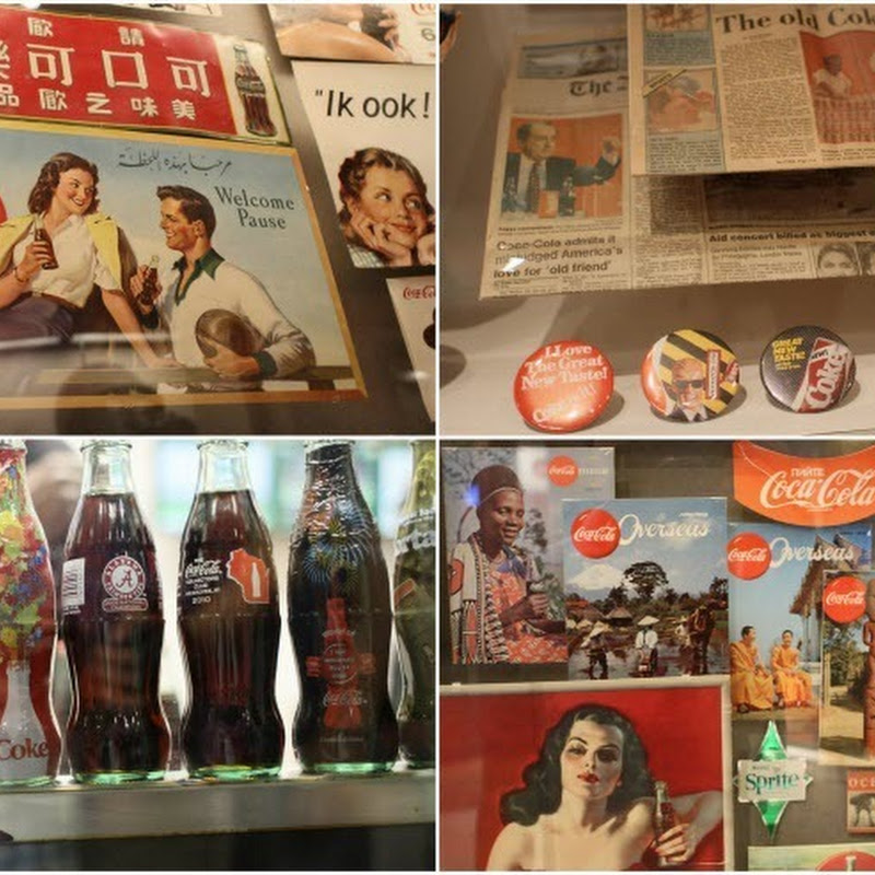 The World of Coca-Cola Museum in Atlanta