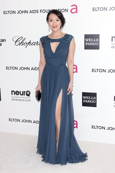 Zhang Ziyi Annual Elton John Oscar Viewing