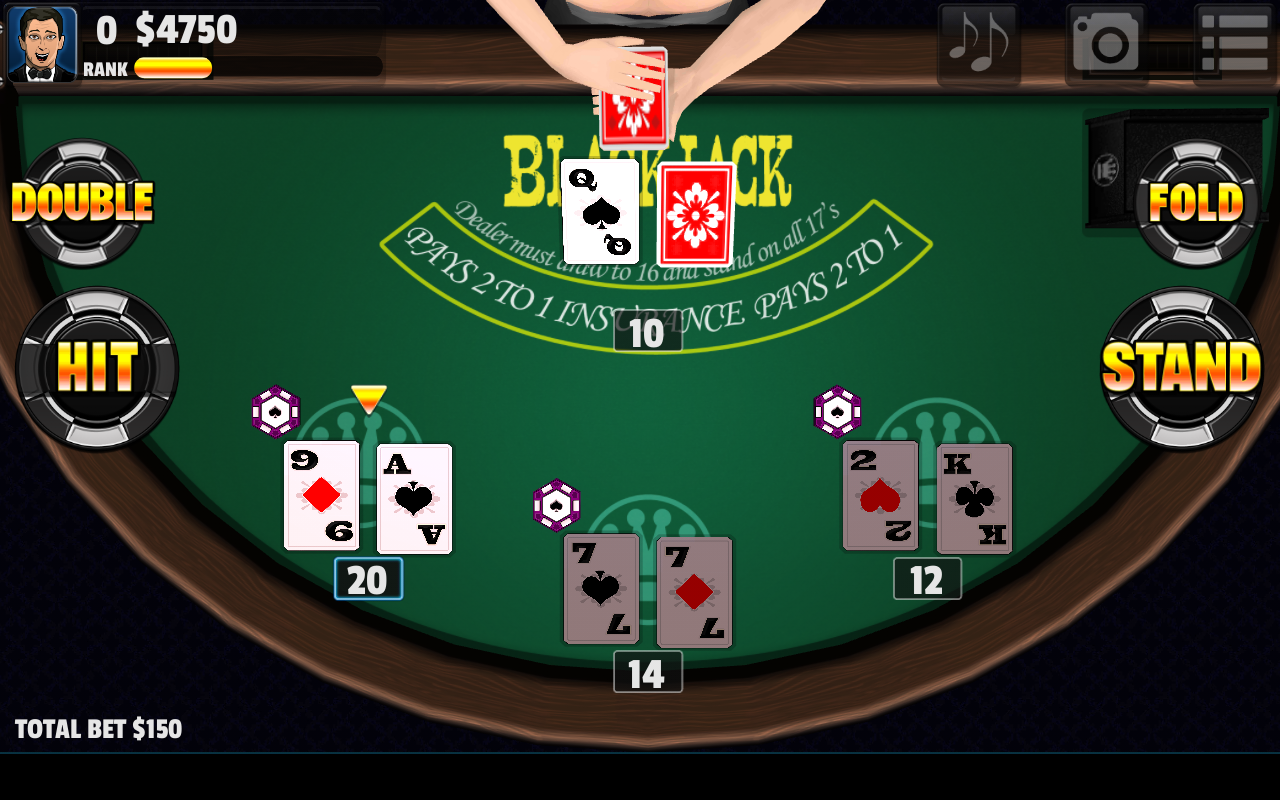 Free Blackjack Games For Fun
