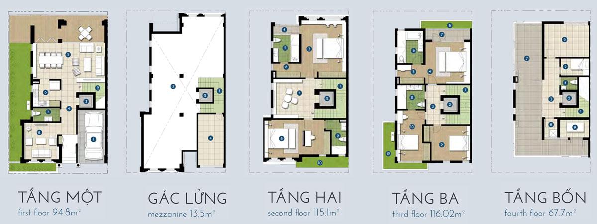 Biệt Thự Bitexco Nguyễn Xiển
