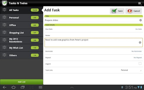 TNT Pro To-Do List | Task List - screenshot thumbnail