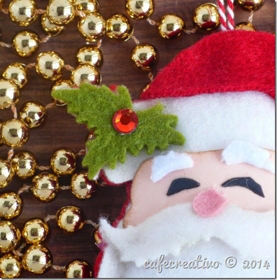 cafecreativo - sizzix big shot - christmas - natele - decorazione