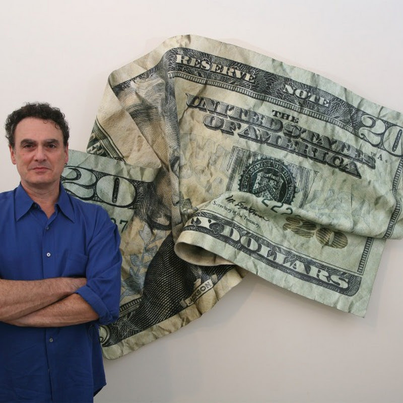 Paul Rousso's Hyper-sized Currency Bills