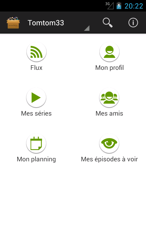 SeriesAddict- screenshot