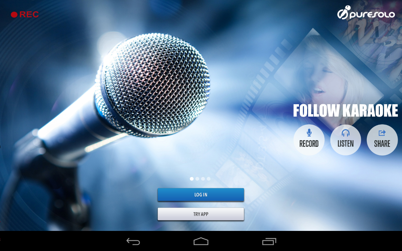Follow Karaoke - screenshot