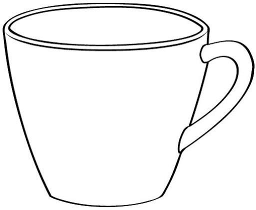 Dibujos De Tazas De Cafe Para Imprimir Imagui