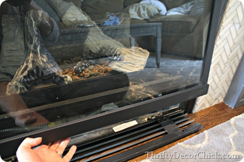 cleaning gas fireplace glass from thrifty decor chick rh thriftydecorchick com gas fireplace cleaner msds gas fireplace cleaners collegeville pa