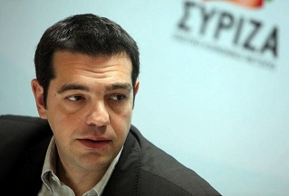 Alexis Tsipras leader of SYRIZA